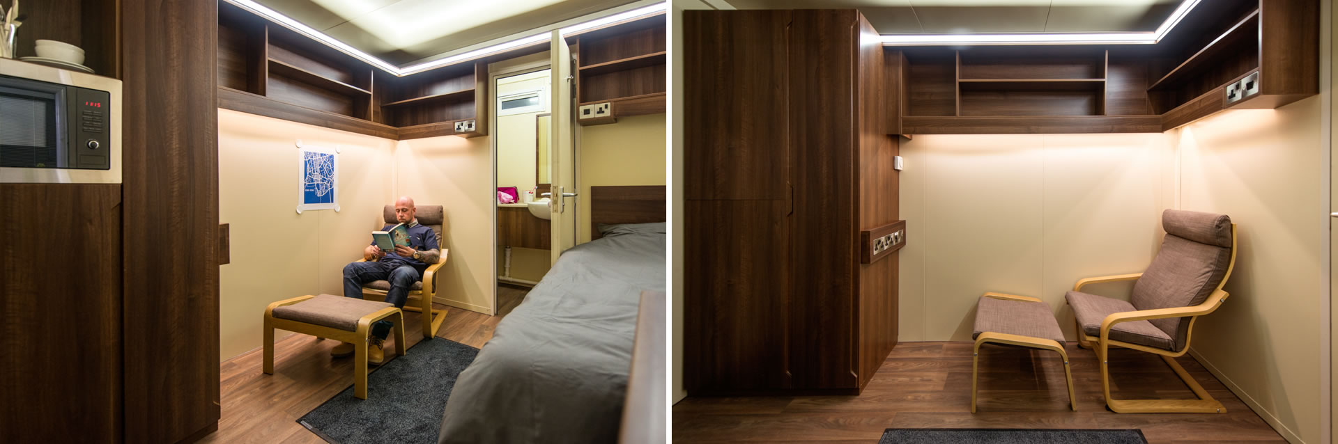 Bunkabin Bespoke Sleeper Unit - Lounge Option